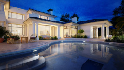 Geofoam installation is increasingly being used to build luxury pools.