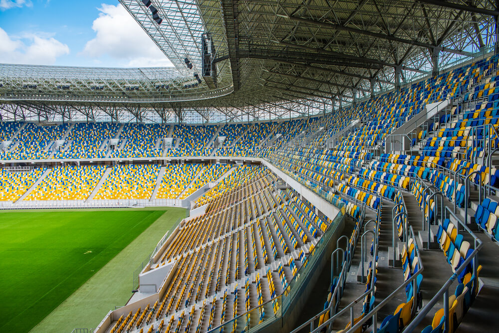 Geofoam helps shape the largest stadiums in the world